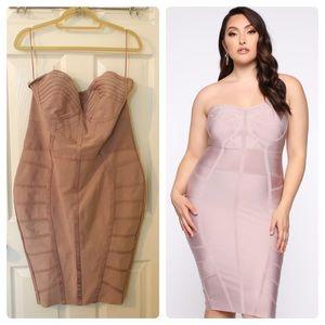 Bella Bandage Midi Dress